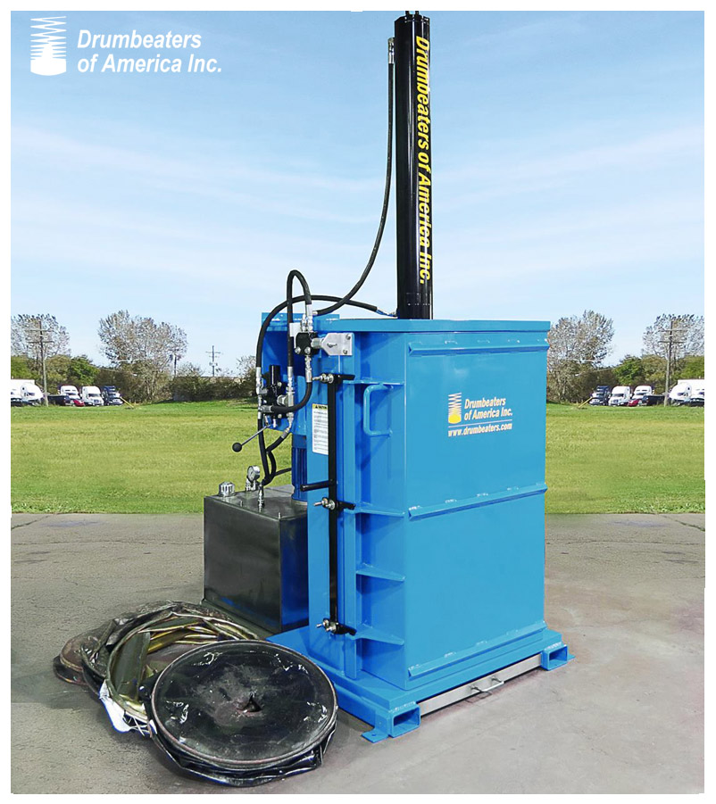 Drum Crusher Dc5000 5 Electric on oil recirculation system