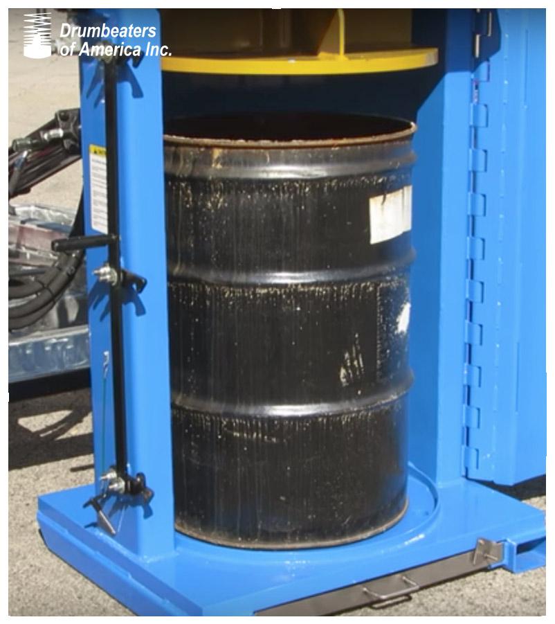 Industrial Portable Drum Crusher Model Dc8000 20 Diesel