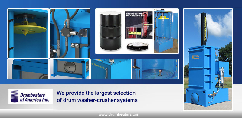 drum washer crushers